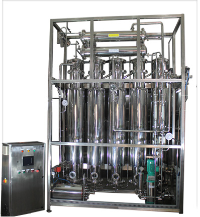 Multicolumn Distillation Plant